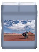 Beautiful Day For A Ride Duvet Cover