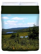 Beautiful Day In The Country Duvet Cover