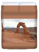 Beautiful Delicate Arch Duvet Cover