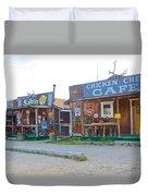 Beautiful Downtown Chicken-alaska Duvet Cover