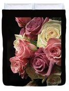 Beautiful Dramatic Roses Duvet Cover