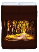Beautiful Fall Day In Nebraska Duvet Cover