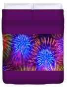 Beautiful Fireworks 10 Duvet Cover