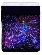 Beautiful Fireworks  3 Duvet Cover