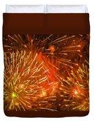 Beautiful Fireworks 4 Duvet Cover