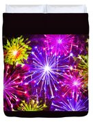 Beautiful Fireworks  6 Duvet Cover