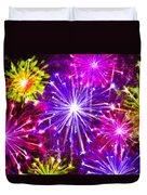 Beautiful Fireworks  6 Duvet Cover