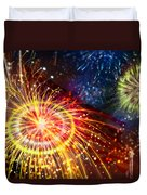 Beautiful Fireworks 8 Duvet Cover