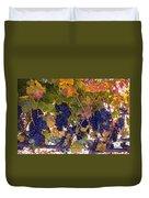 Beautiful Grape Harvest Duvet Cover