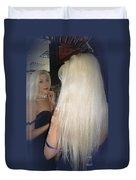 Beautiful Hair Duvet Cover