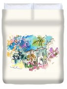 Beautiful House In Sintra Duvet Cover