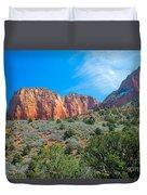 Beautiful Kolob Canyon Duvet Cover