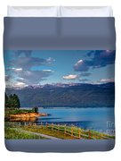 Beautiful Lake View Duvet Cover
