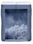 Beautiful Landscape With A Stormy Wind Duvet Cover