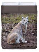 Beautiful Lynx Duvet Cover