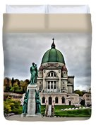 Beautiful Montreal Church Duvet Cover
