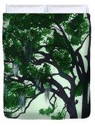 Beautiful Oak Trees Duvet Cover