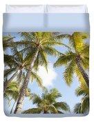Beautiful Palms Duvet Cover