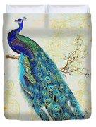 Beautiful Peacock-b Duvet Cover