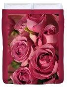 Beautiful Pink Roses 6 Duvet Cover
