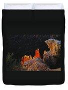 Beautiful Pinnacles At Bryce Canyon Duvet Cover