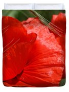 Beautiful Poppies 10 Duvet Cover