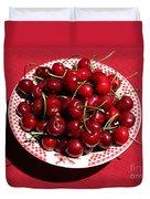 Beautiful Prosser Cherries Duvet Cover