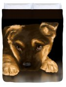 Beautiful Puppy Duvet Cover by Veronica Minozzi