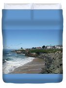Beautiful Santa Cruz Coast Duvet Cover