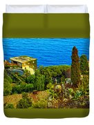 Beautiful Sicily Duvet Cover