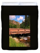 Beautiful Spearfish Canyon Duvet Cover