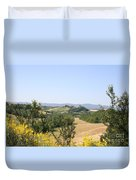 Beautiful Spot - Crete Senesi Duvet Cover