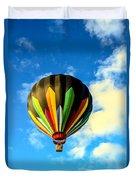 Beautiful Stripped Hot Air Balloon Duvet Cover