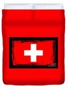 Beautiful Switzerland Flag Duvet Cover