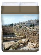 Beautiful Taybeh Village Duvet Cover