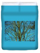 Beautiful Turquoise Sky Duvet Cover