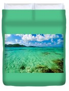 Beautiful Turquoise Water Duvet Cover