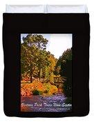 Beautiful Victoria Park Truro Nova Scotia Duvet Cover