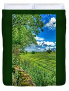 Summer View In Yorkshire Duvet Cover