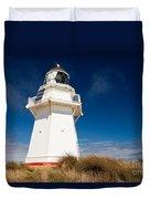 Beautiful Waipapa Point Lighthouse The Catlins Nz Duvet Cover