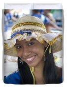 Beautiful Women Of Brazil 11 Duvet Cover
