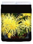 Beautiful Yellow Flower Duvet Cover
