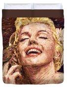 Beautifully Happy Duvet Cover
