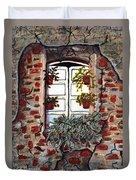 Beauty After Destruction Window Art Prints Duvet Cover