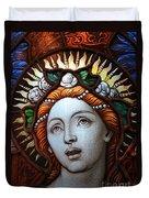 Beauty In Glass Duvet Cover by Ed Weidman