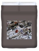Beauty In Ice Duvet Cover