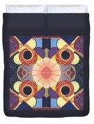 Beauty In Symmetry 4 - The Joy Of Design X X Arrangement Duvet Cover