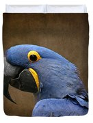 Beauty Is An Enchanted Soul - Hyacinth Macaw - Anodorhynchus Hyacinthinus Duvet Cover