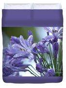 Beauty Lilies Duvet Cover