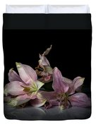 Beauty Of Decaying Lilies Duvet Cover